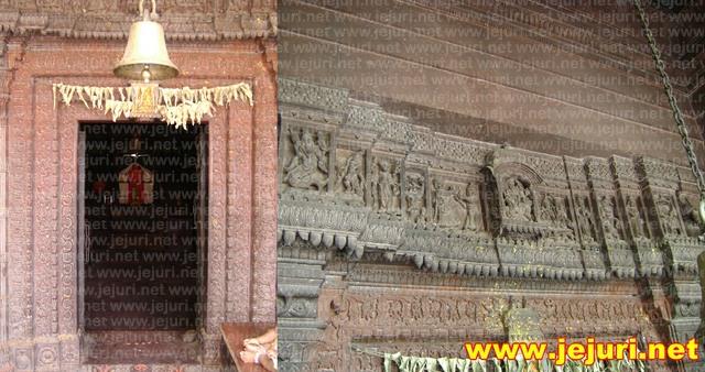 satare khandoba temple gate